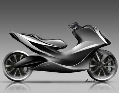 EVR Maxi Scooter