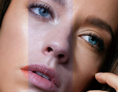 Beauty Retouching Practice