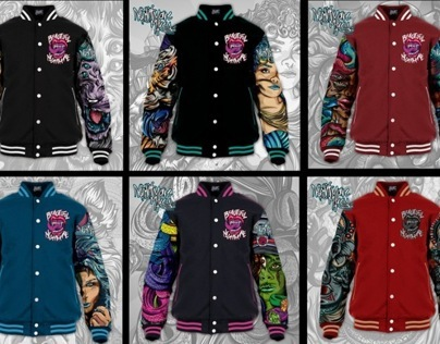 NIGHTMARE VARSITY JACKETS