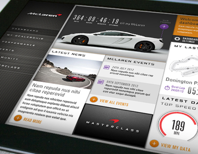 McLaren Automotive Connected Car