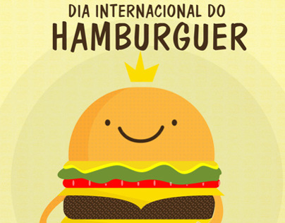 28 de Maio - Dia internacional do  hamburguer