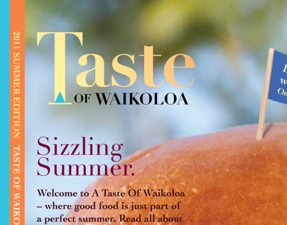 Taste of Waikoloa Magazine