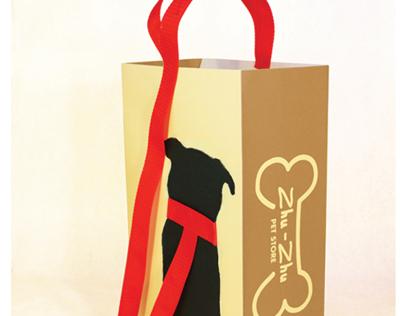 Zhu-Zhu Pet Store Shopping Bag