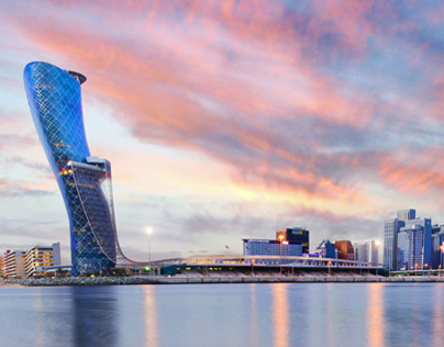 Capital Gate - Abu Dhabi - UAE