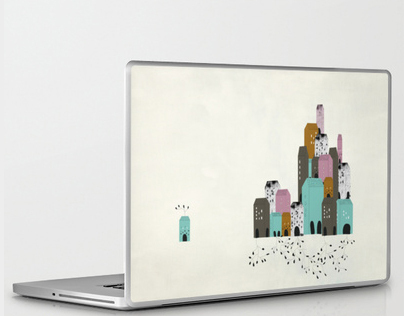 Labtop skins for Society 6