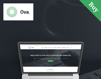 Ova – Multi-purpose Business PSD Template