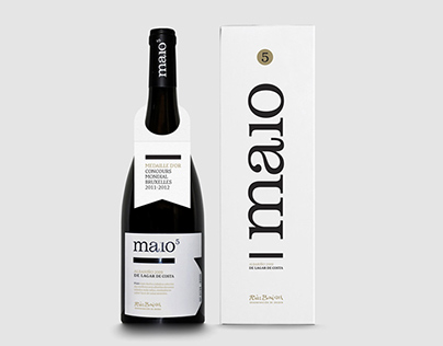 Maio. Albariño white wine