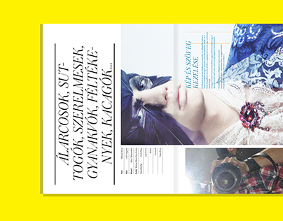 LACK Magazine Visual Identity
