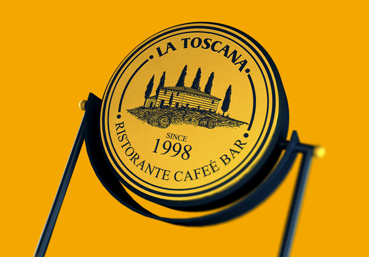 Toscana - Logo and Identity