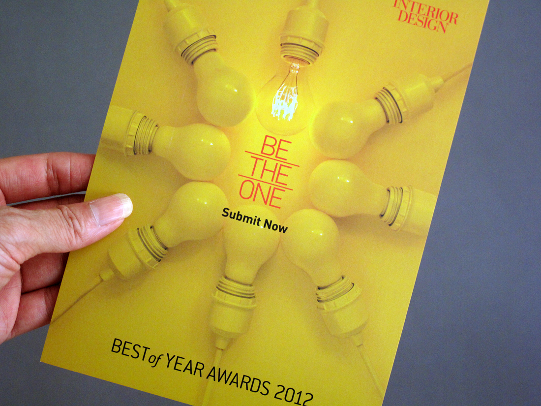 Best of Year Awards 2012 Visual Identity