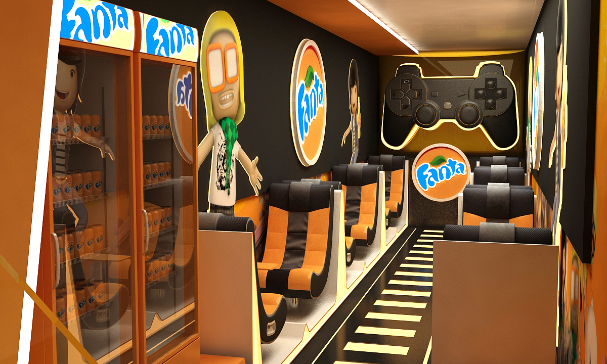 Fanta play Booth