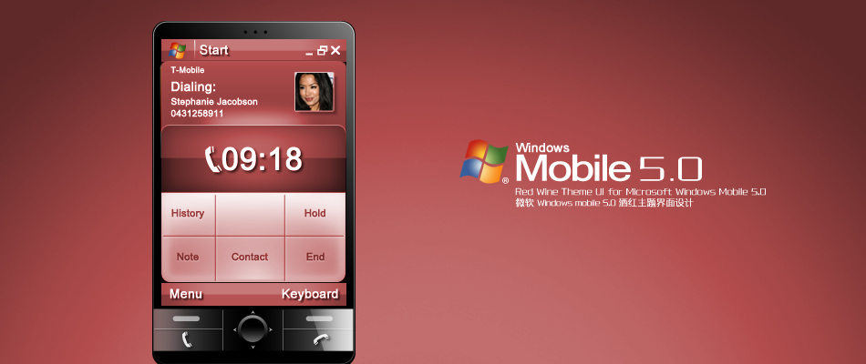 Windows Mobile Interface