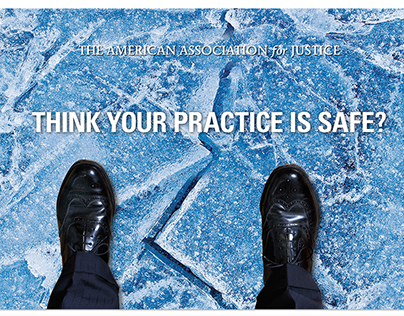 Thin Ice direct mail campaign