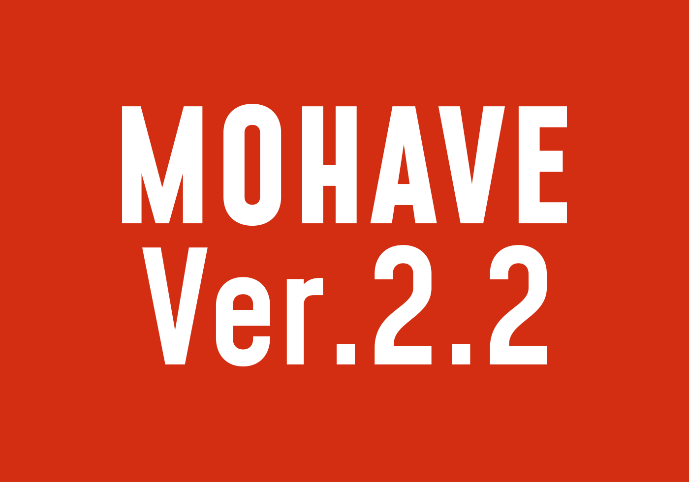 Mohave Free Typefaces