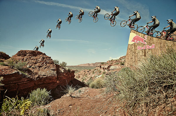 RedBull Rampage Downhill Mountain Bike Competition
