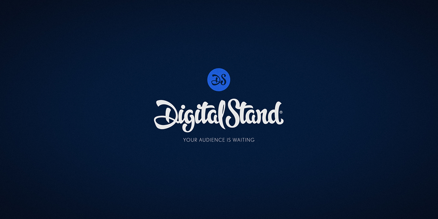 DigitalStand - Logotype & Visual Identity Design