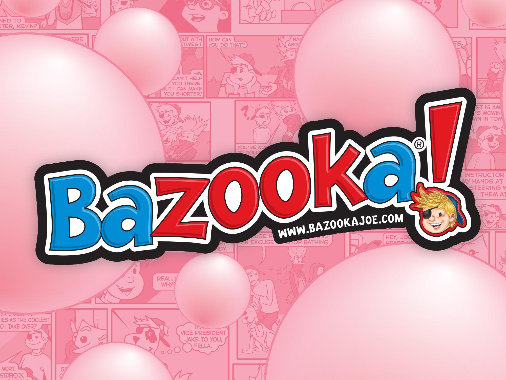 Branding: Topps, Bazooka logo & packaging