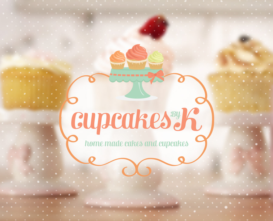 Cupcakes by K - Logo for Sale!