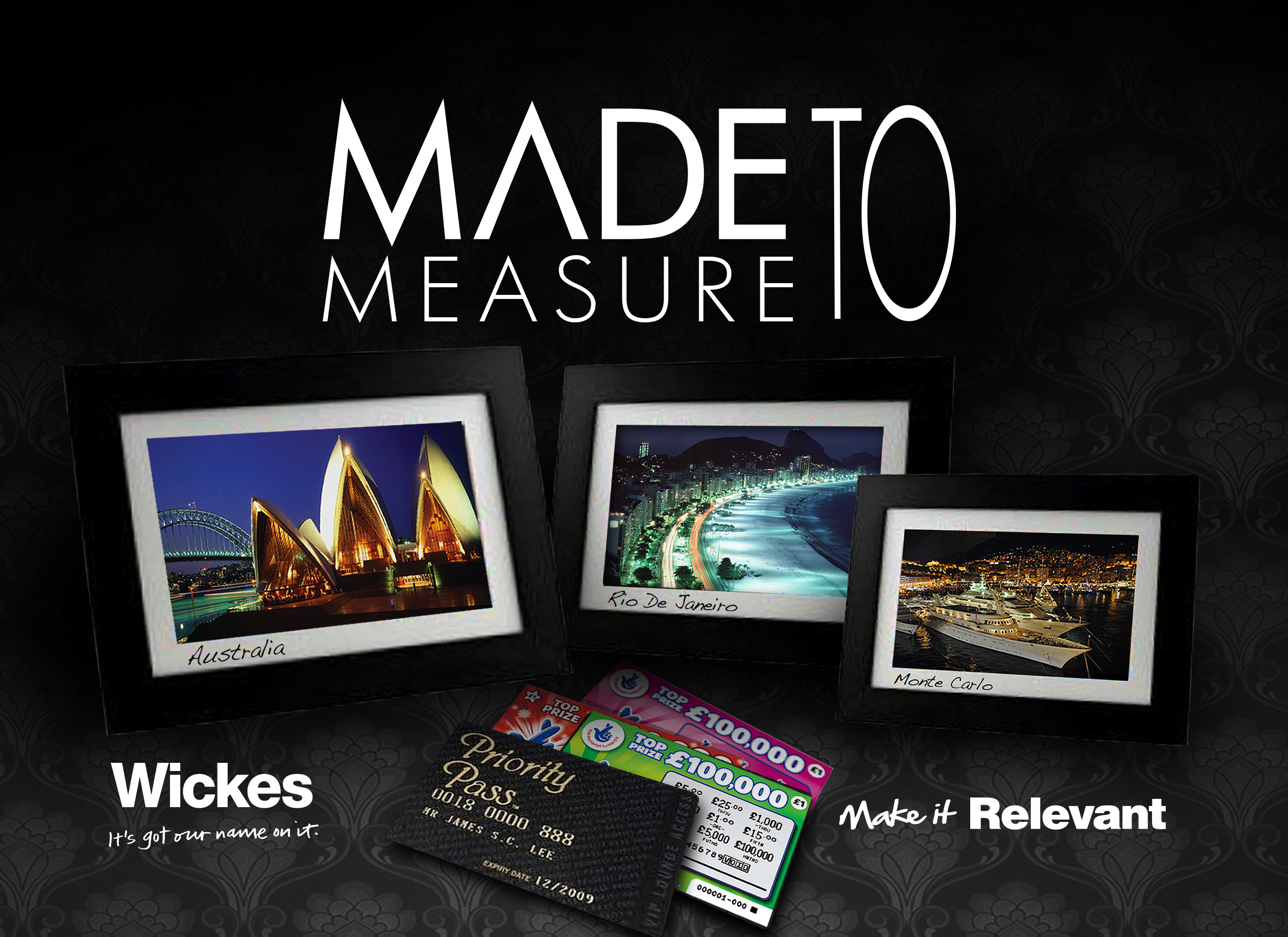 Wickes - Made to measure incentive