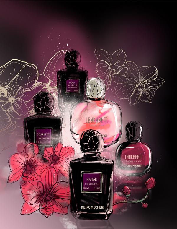 Keiko Mecheri perfumery