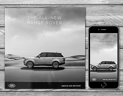 The All-New Range Rover - Brochure, Leaflet, App