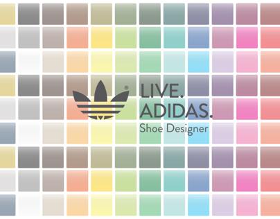 Live. Adidas. Shoe Designer App
