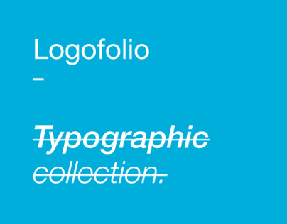 Typographic logo collection