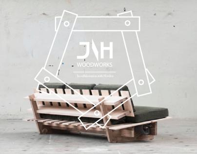 Sleeping sofa prototype #1