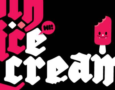 gothicecream typeface