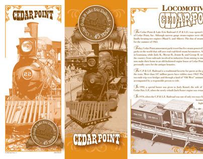 Cedar Point Locomotive 45th Anniversary Brochure