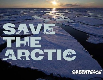 GREENPEACE SAVE THE ARTIC