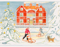 ARLA PLAST,  Christmas card