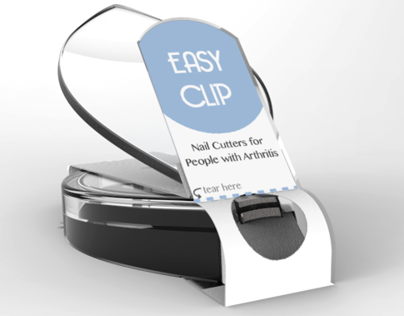 EASY CLIP nail clipper design & packaging