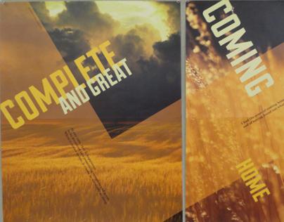 Set of Broadside Posters