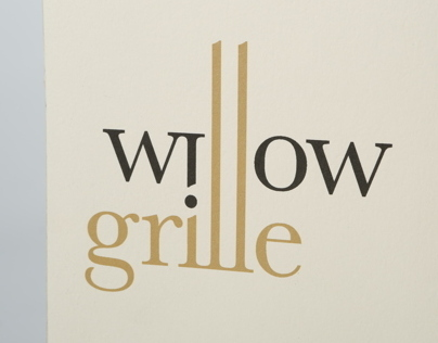 Willow Grille Menu