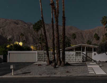 Palm Springs Midnight Modern