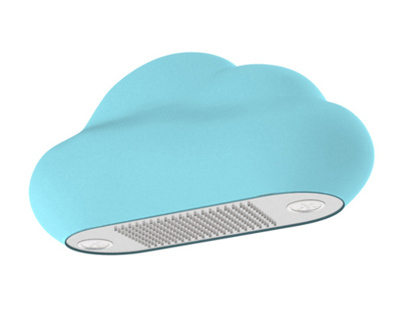 Nube | A cloud shower head.