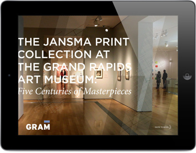 The Jansma Collection iPad and Website