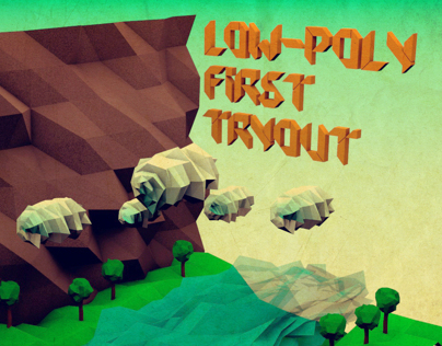 Low-Poly First TryOut