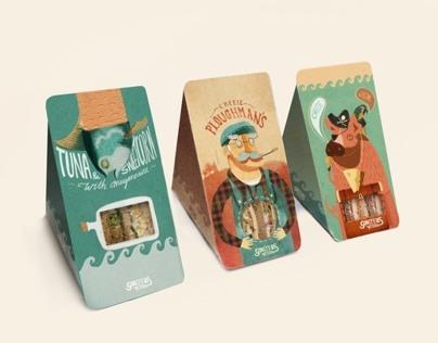 Packaging- Ginsters Reinterpretation