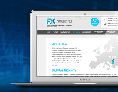 FX Sourcing - website