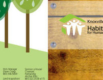 Knoxville Habitat for Humanity Tri-fold Brochure
