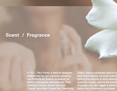 Scent and Fragrance