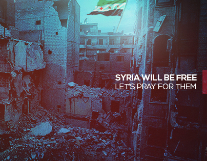 Syria will be free  let's pray for them