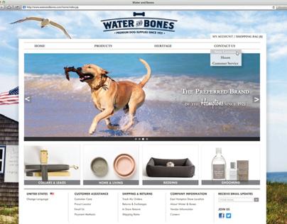 Water and Bones Website
