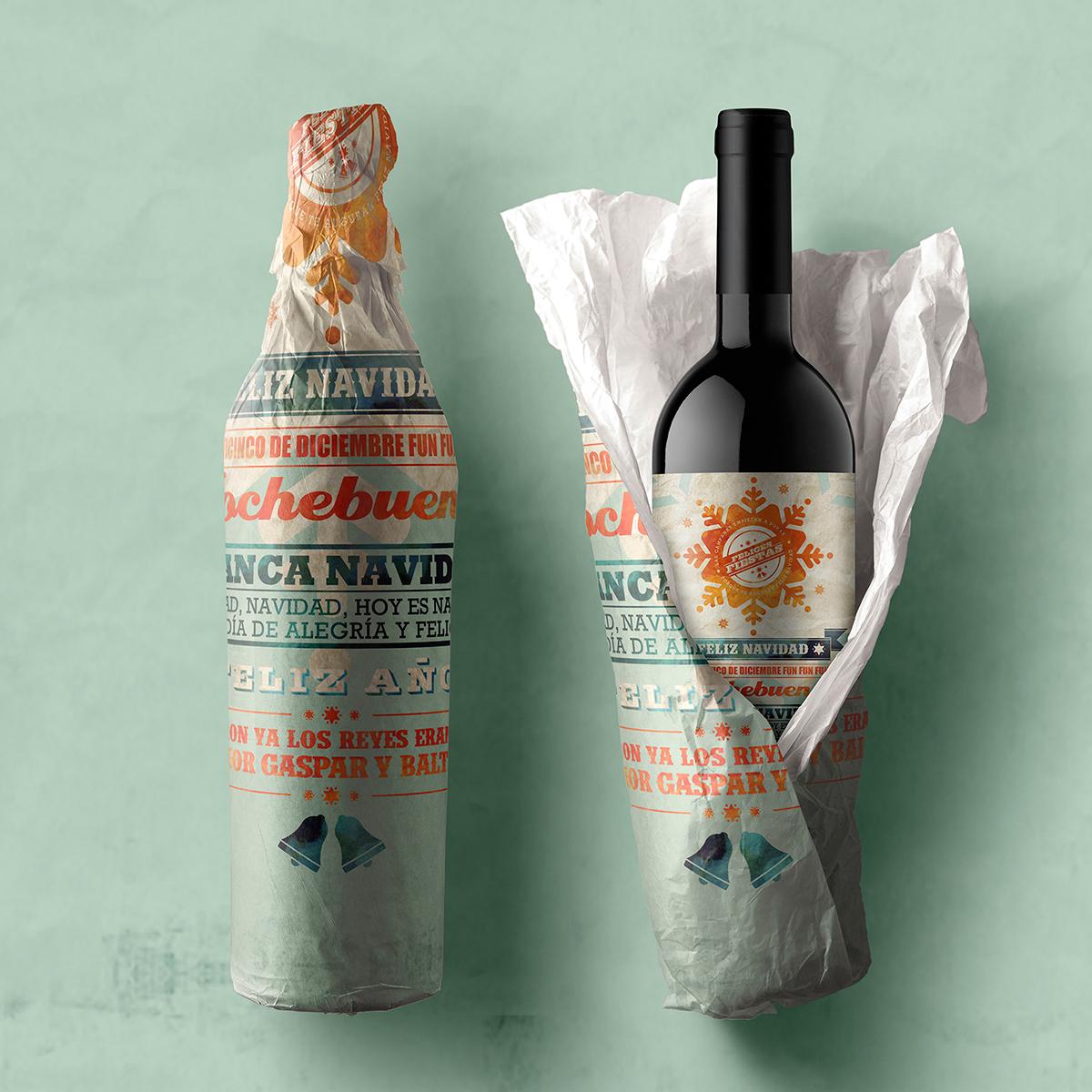 Label design · Xmas Wine · Barbara Wehowsky