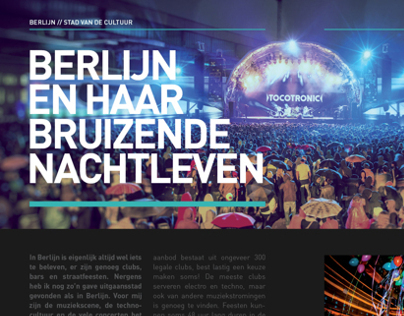 Magazine about Berlin