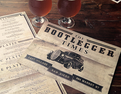 Bootlegger - Restaurant / Bar Marketing & Branding