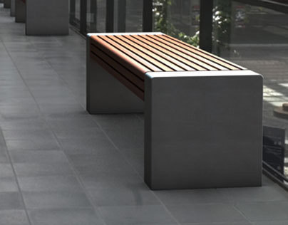 Concrete Bench | PER 200 | Betondesign by tradesign GbR