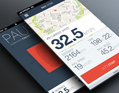 Bike now! app